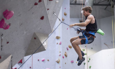 The Secret to Overcoming Your Fear of Falling: Lead Climbing
